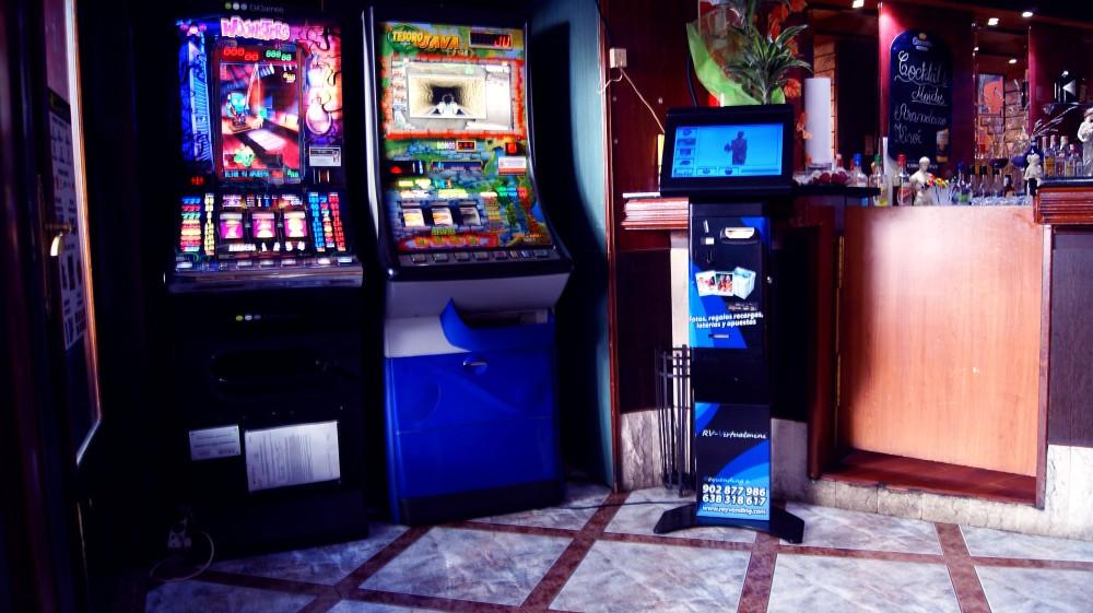 maquinas de lotería en bares