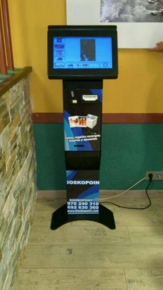máquina de lotería kioskopoint