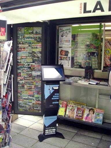 máquinas de loterías ilegales